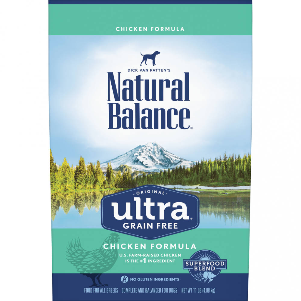 Natural Balance Original Ultra Grain Free Chicken Recipe Dry Dog Food 11-lb