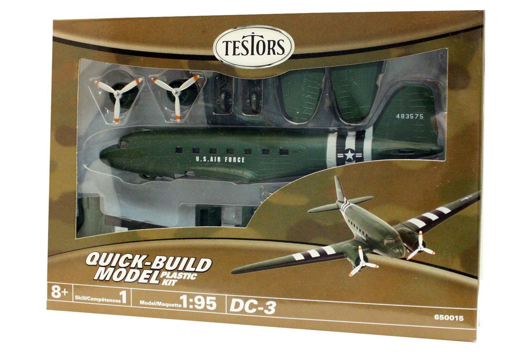 Testors DC-3 Transport Aircraft (1:95 Scale)