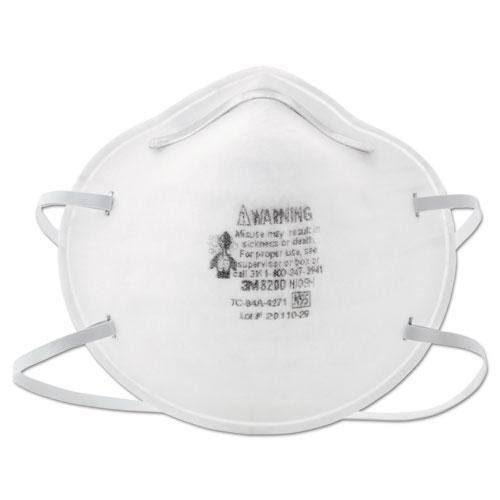 N95 Particle Respirator 8200 Mask - 20ct