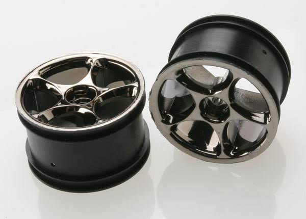 Traxxas 2472A Tracer Chrome Wheels