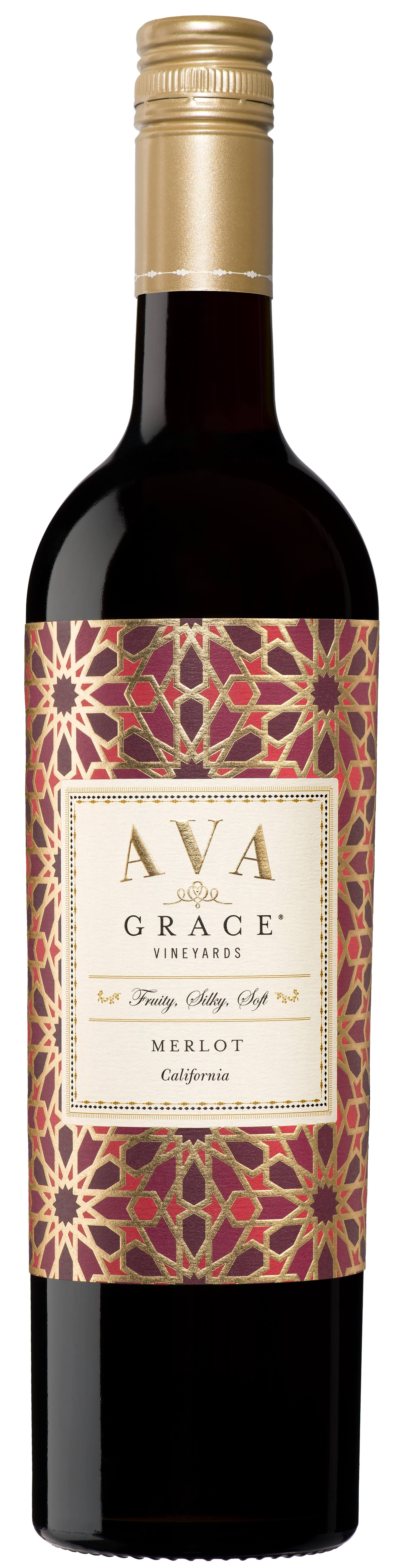 Ava Grace Vineyards Merlot, California, 2015 - 750 ml