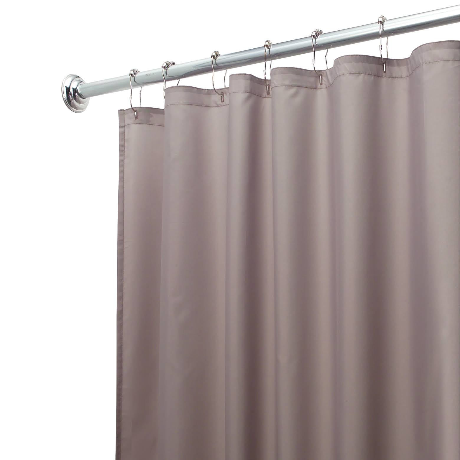 Interdesign Shower Curtain Liner - Gray