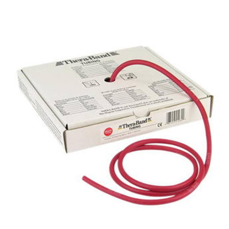 Thera-Band Exercise Tubing 25' Medium Red