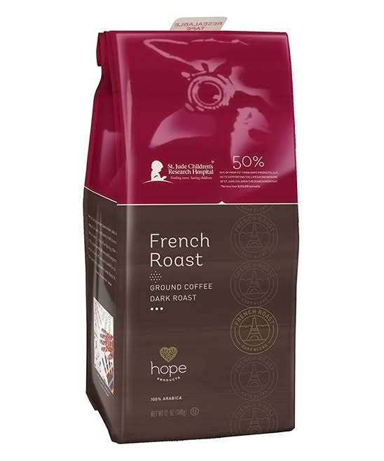 Hope Products French Roast Ground Coffee - 12oz