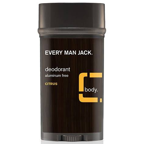 Every Man Jack Deodorant Citrus 3 oz