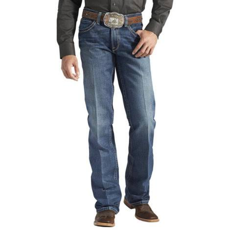 Ariat Men's M4 Low Rise Boot Cut Jean - Gulch, 34W x 34L