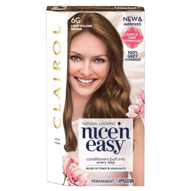 Nice'n Easy Permanent Hair Dye - Light Golden Brown