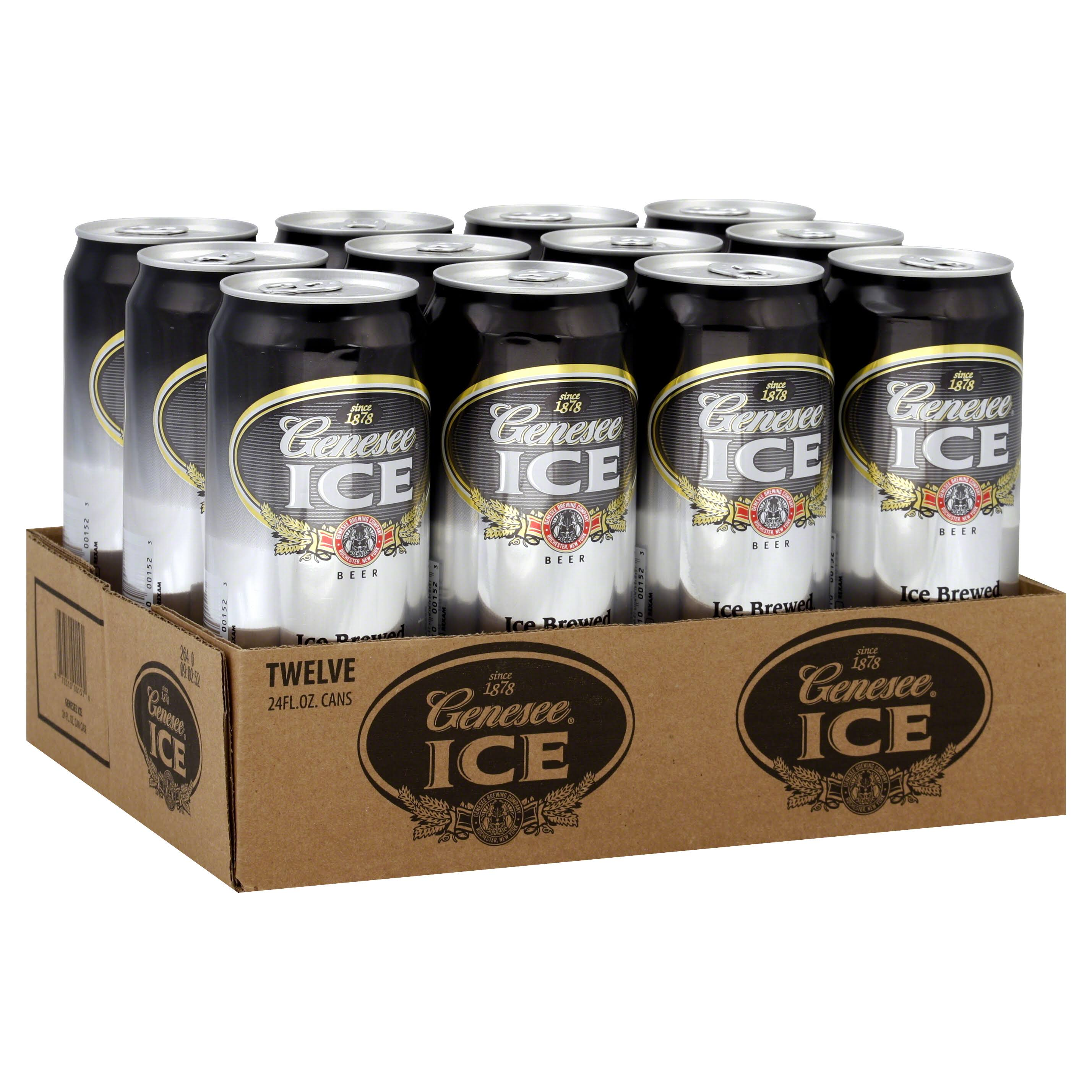 Genesee Ice Beer - 12 pack, 24 fl oz