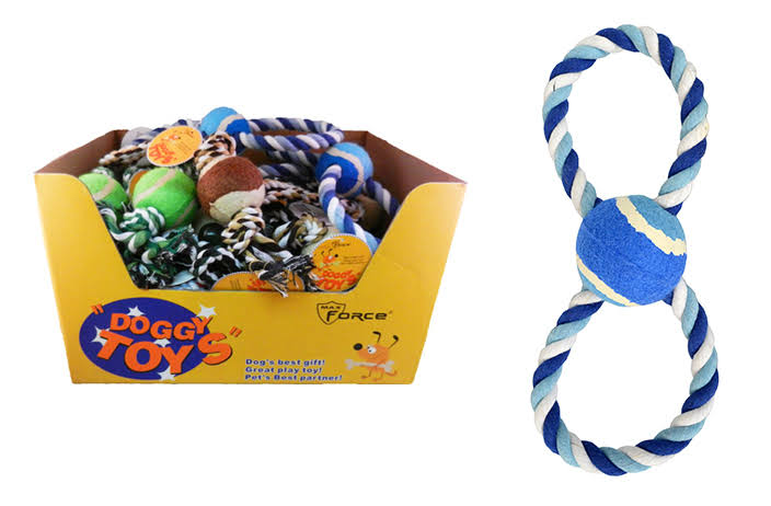 DD Dog Rope Toys (Pack of 36)