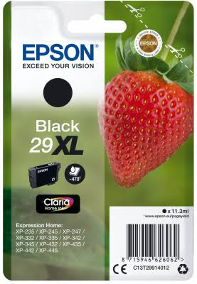 Epson C13T29914012 Original Ink Cartridge - Black 29XL