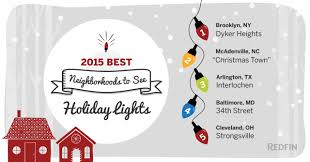 Christmas Tree Lane Pasadena Directions by Best Neighborhoods To See Holiday Lights In 2015 Redfin