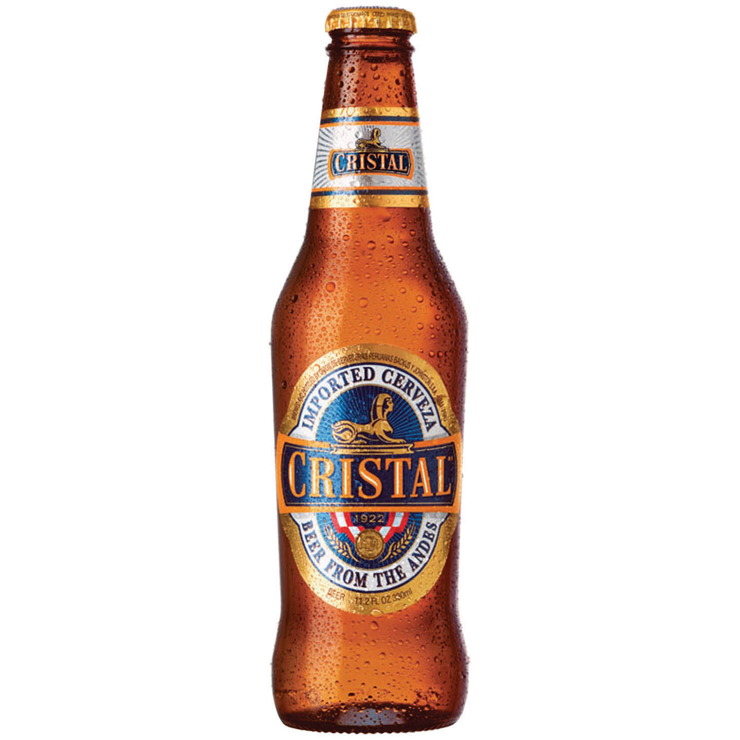 Cristal Beer 6-12 Fl. Oz. Bottles