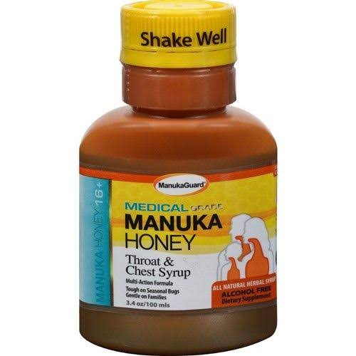 Medical Manuka Honey Throat & Chest Syrup - 100ml