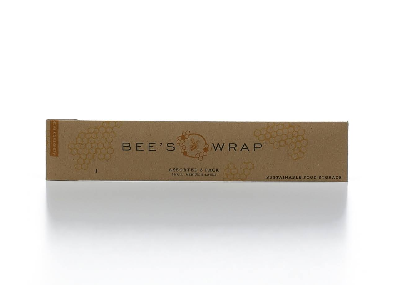 Bee's Wrap - Small, Medium and Large, Assorted, 3pk