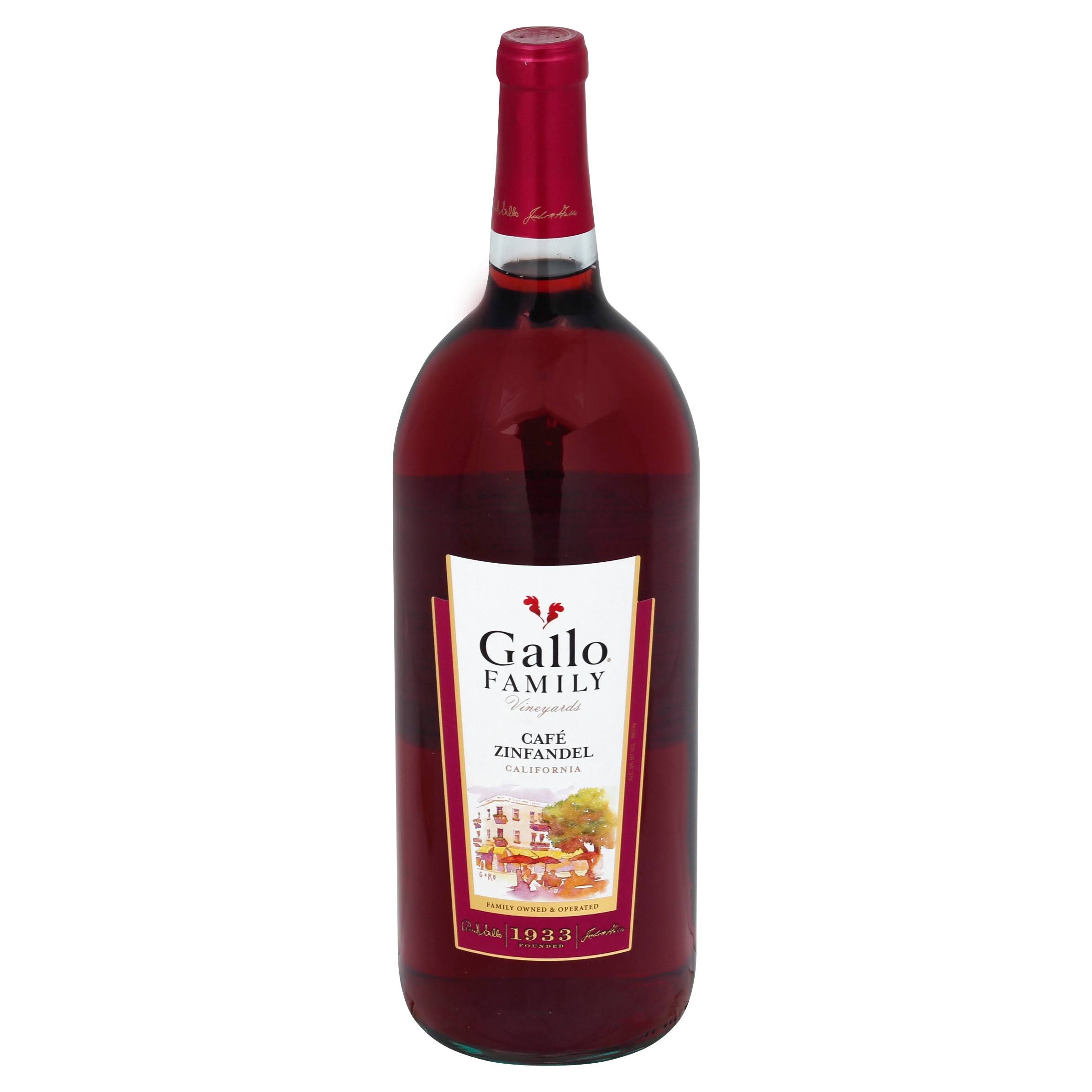 Gallo Family Vineyards Cafe Zinfandel - California, United States, 1.5L
