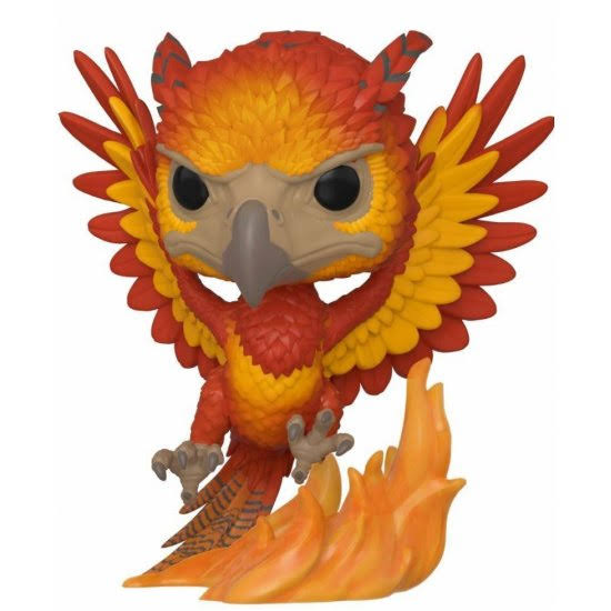 Funko Pop Harry Potter Fawkes Vinyl Figures - 10cm