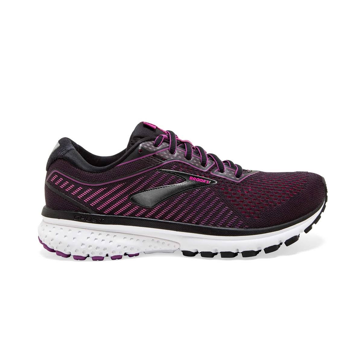Brooks Women's Ghost 12 Black/Pink