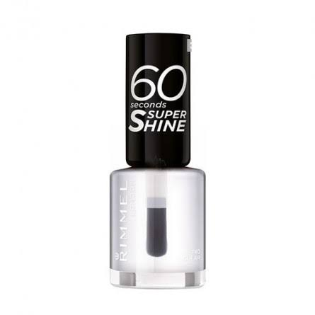Rimmel London 60 Seconds Super Shine Nail Polish - 740 Clear, 8ml