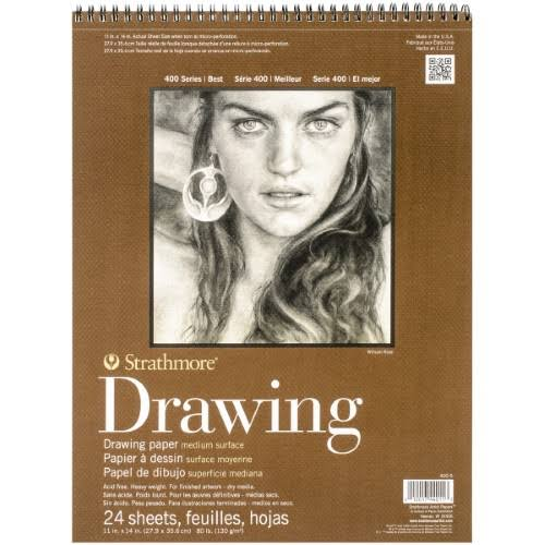 Strathmore Drawing Paper - 24 Sheets