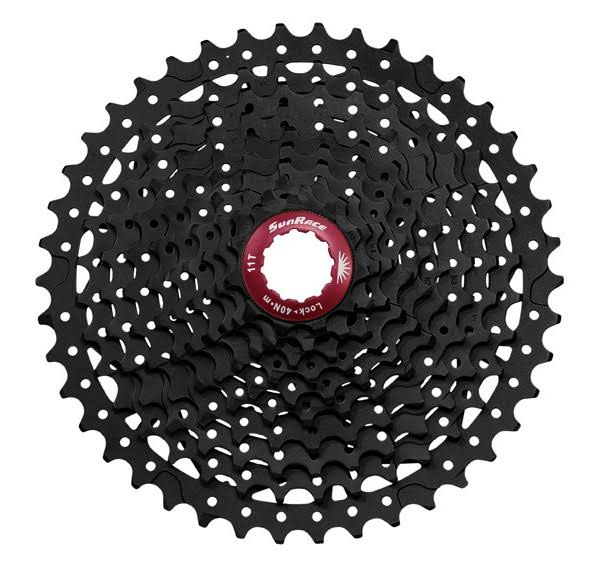 Sunrace Cassette - Black Chrome, 11-42T, 10 speed