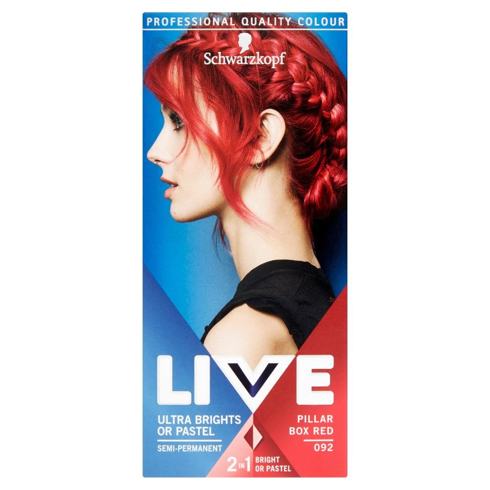 Schwarzkopf Live Color Xxl Ultra Brights Hair Colour - 92 Pillar Box Red