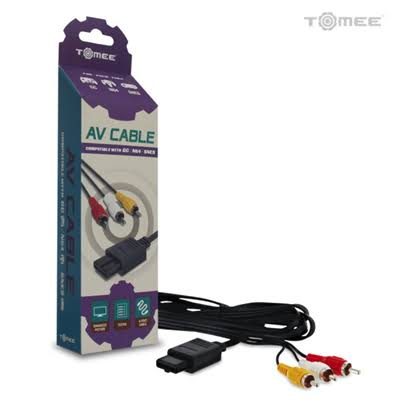 Tomee SNES, N64 & Gamecube Av Cable