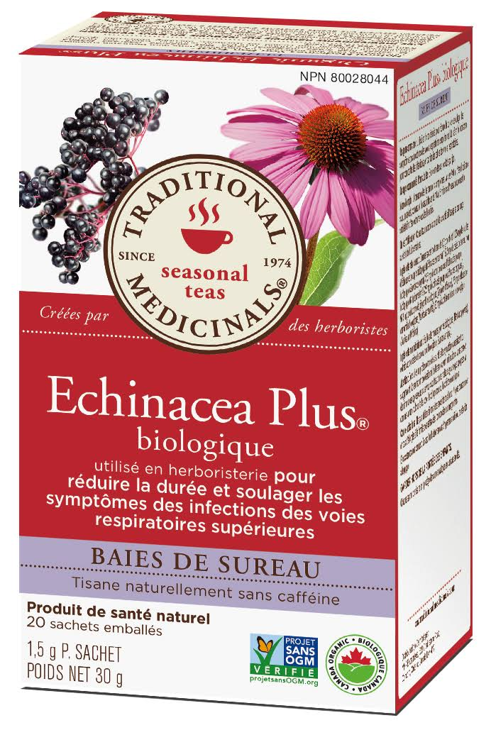 Traditional Medicinals - Echinacea Plus, x16 teabags