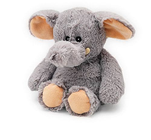 Intelex Cozy Microwaveable Plush Elephant - Lavender