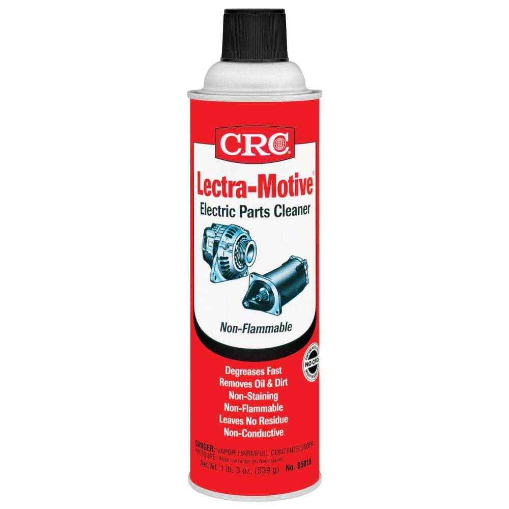 Crc Lectra Motive Electric Parts Cleaner - 19oz