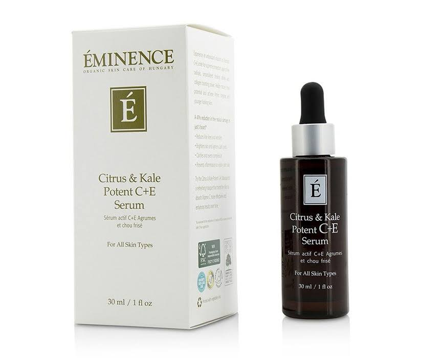 Eminence All Skin Type Citrus and Kale Potent C E Serum - 30ml