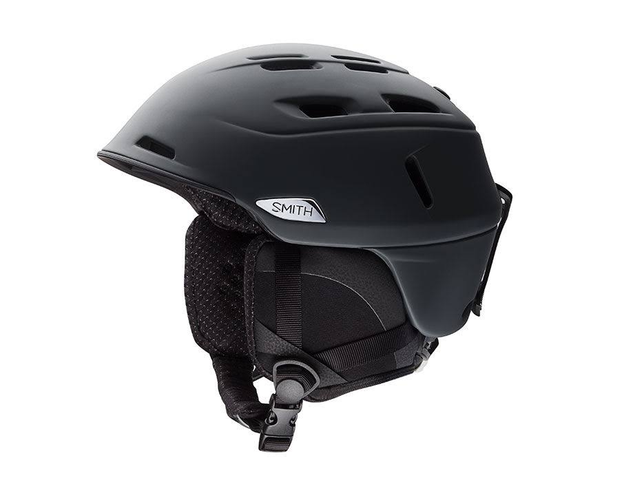 Smith Optics Unisex Adult Camber Snow Sports Helmet - Matte Black, X-Large