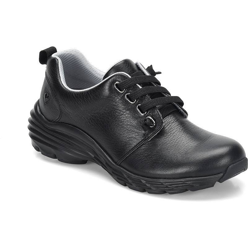 Nurse Mates Align Velocity Shoe Black Size 10 Medium Leather