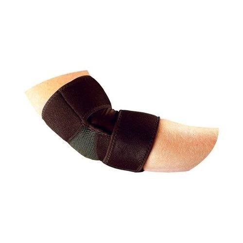 Bell Horn Elbow Wrap Brace Support - Black