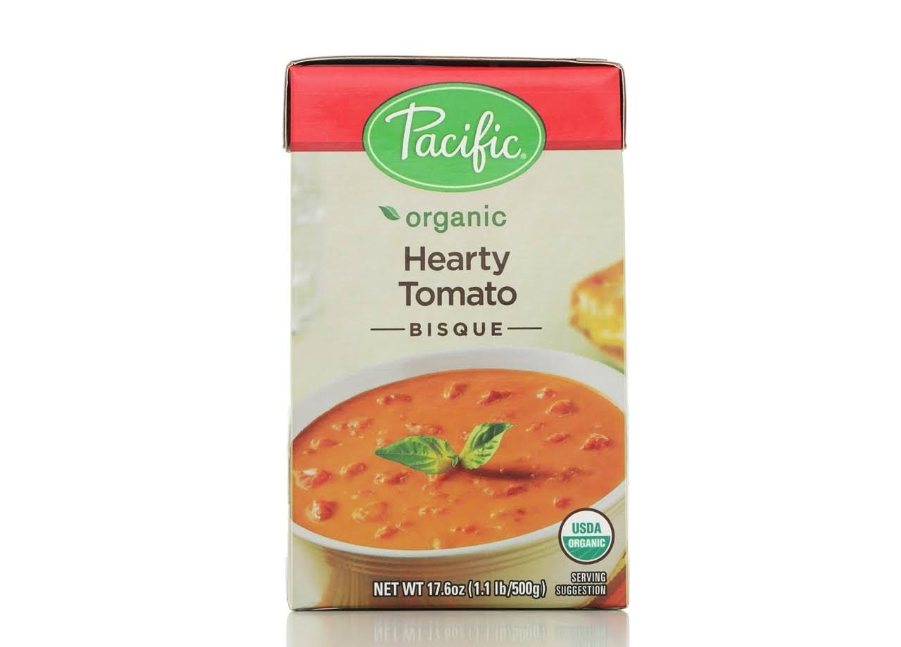Pacific Organic Bisque, Hearty Tomato - 17.6 oz