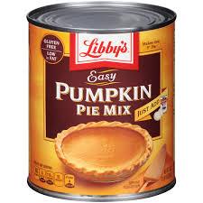 Libbys Pumpkin Pie Spice by Libby U0027s Easy Pumpkin Pie Mix 30 Oz Can Walmart Com