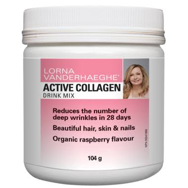 Lorna Vanderhaeghe Active Collagen Mix (Raspberry - 104 Grams)