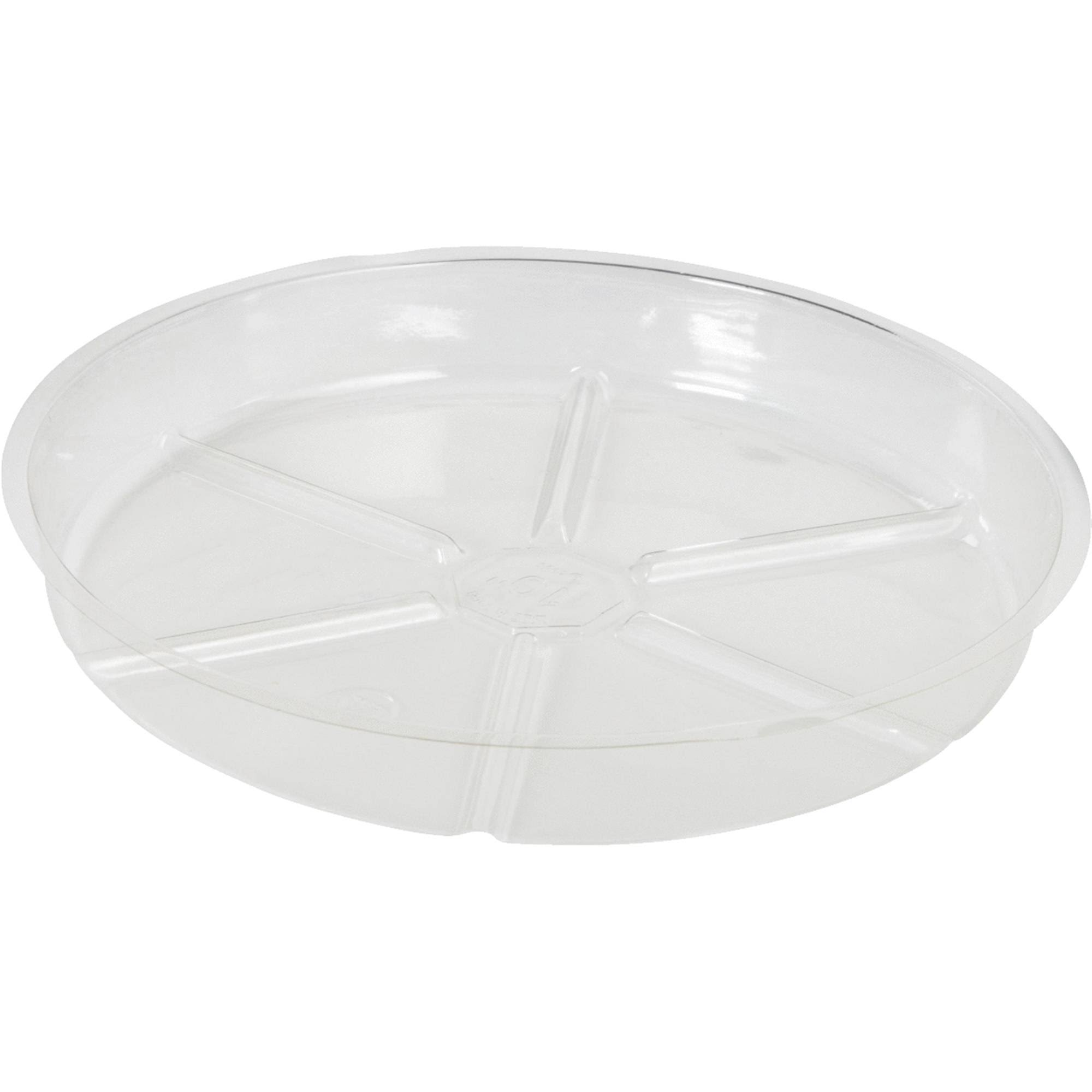 Do It Best Global Sourcing Vinyl Saucer - Clear