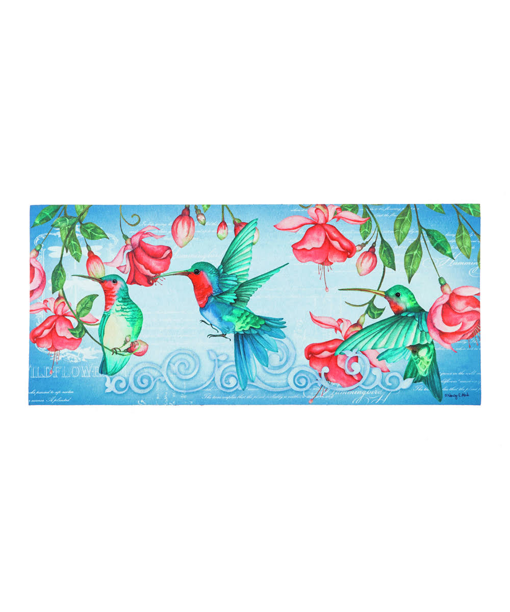 Evergreen Hummingbirds Sassafras Switch Mat