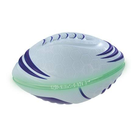 Toysmith Nightzone Bolt Football