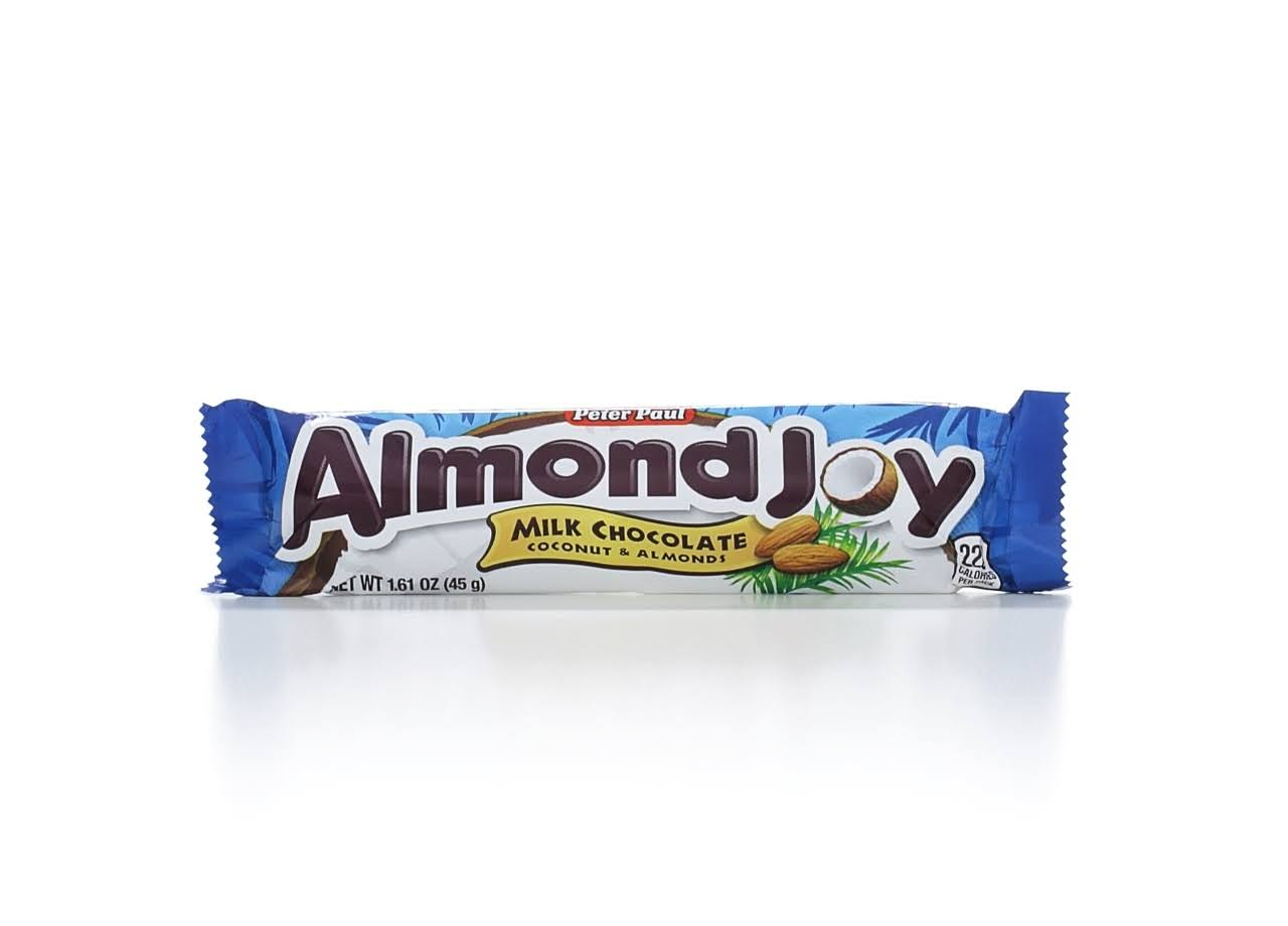 Peter Paul Almond Joy Milk Chocolate - Coconut and Almond, 45g