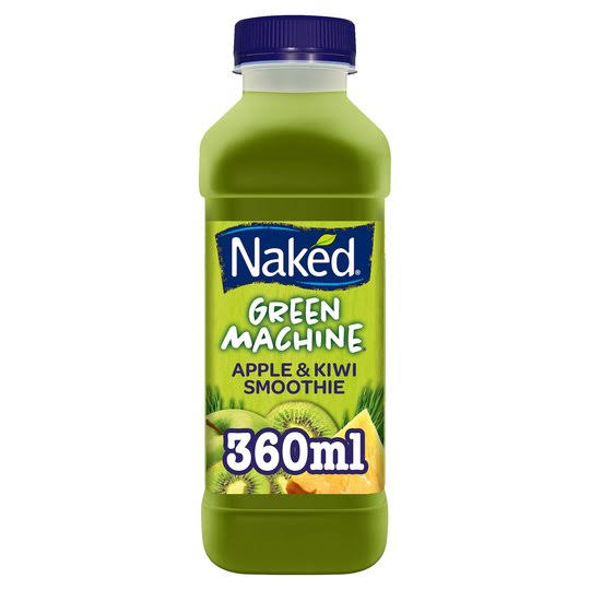Naked Green Machine Apple Kiwi and Pineapple Smoothie - 360ml