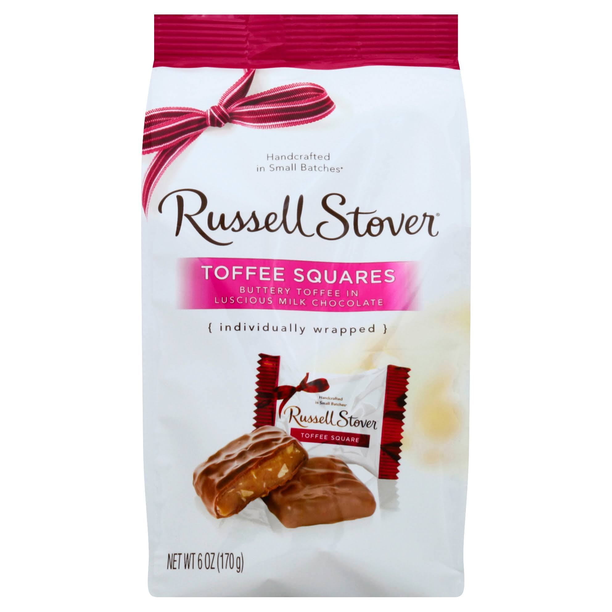 Russell Stover Toffee Squares - 6 oz