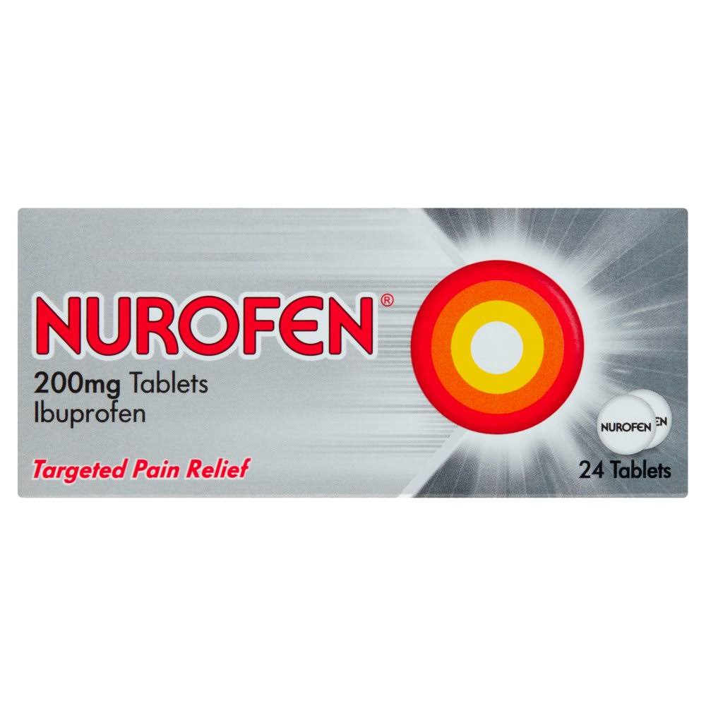 Nurofen Targeted Pain Relief Tablets - 200mg, 24pk