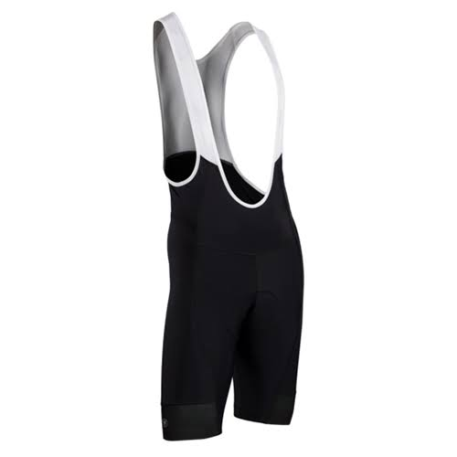 "SUGOI Evolution Men's Bib Short - Black, 9"", X-Large"
