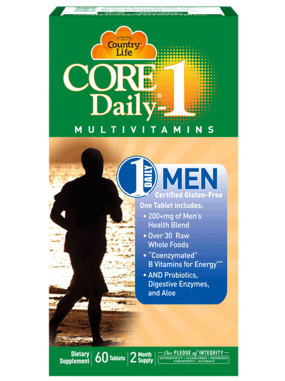 Country Life Core Daily-1 Multivitamins - 60 Softgels