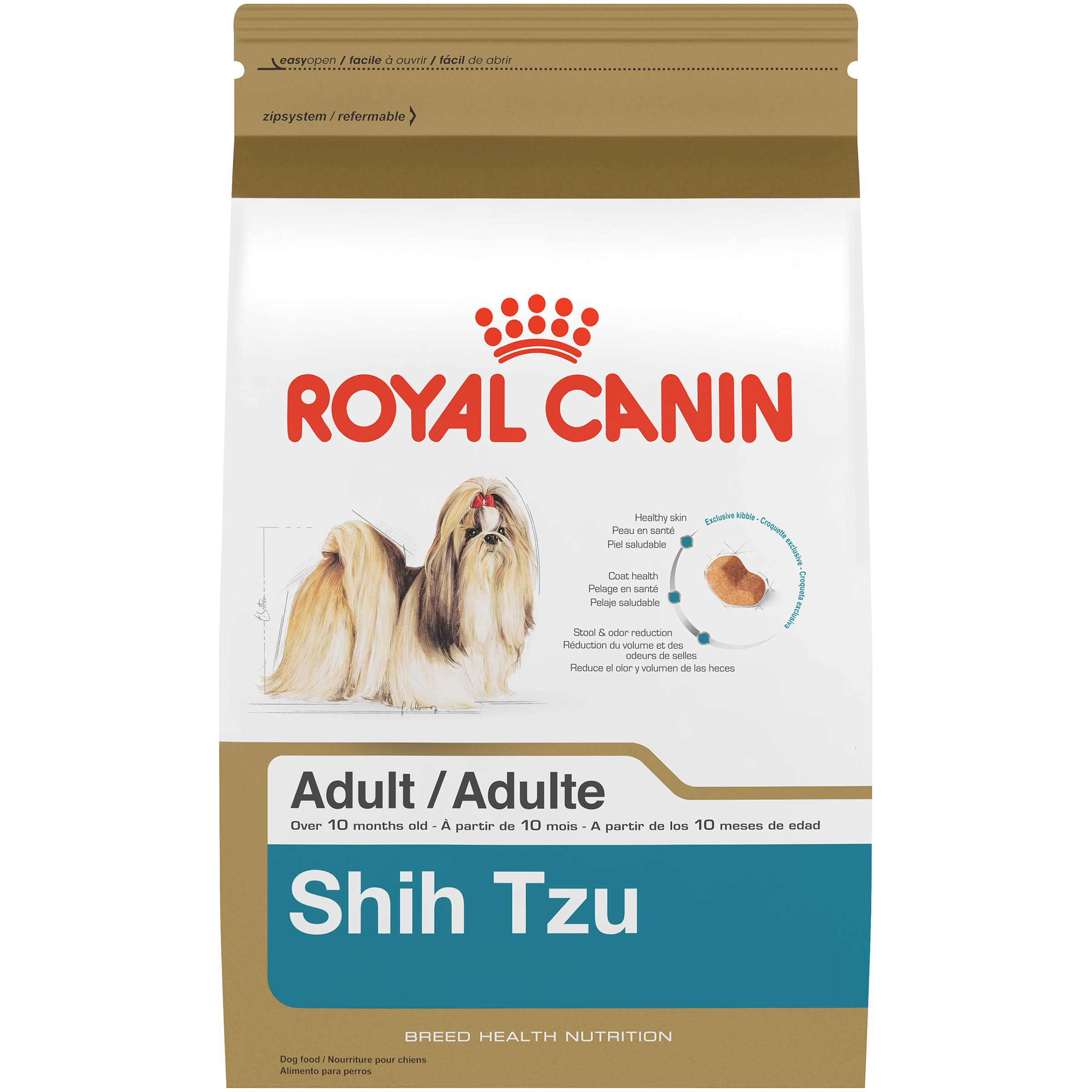 Royal Canin Dry Dog Food - Shih Tzu 24 Formula, 2.5lbs