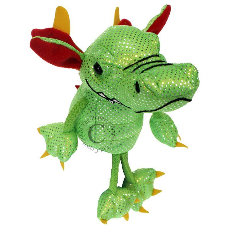 The Puppet Company Dragon Finger Puppets - Green