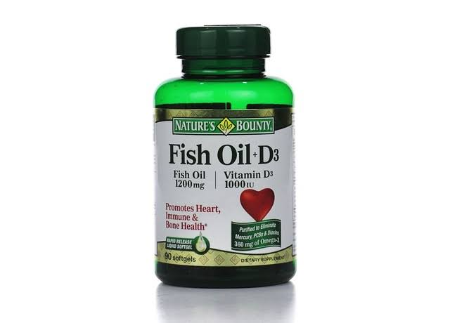 Nature's Bounty High Potency D3-1000 IU Dietary Supplement