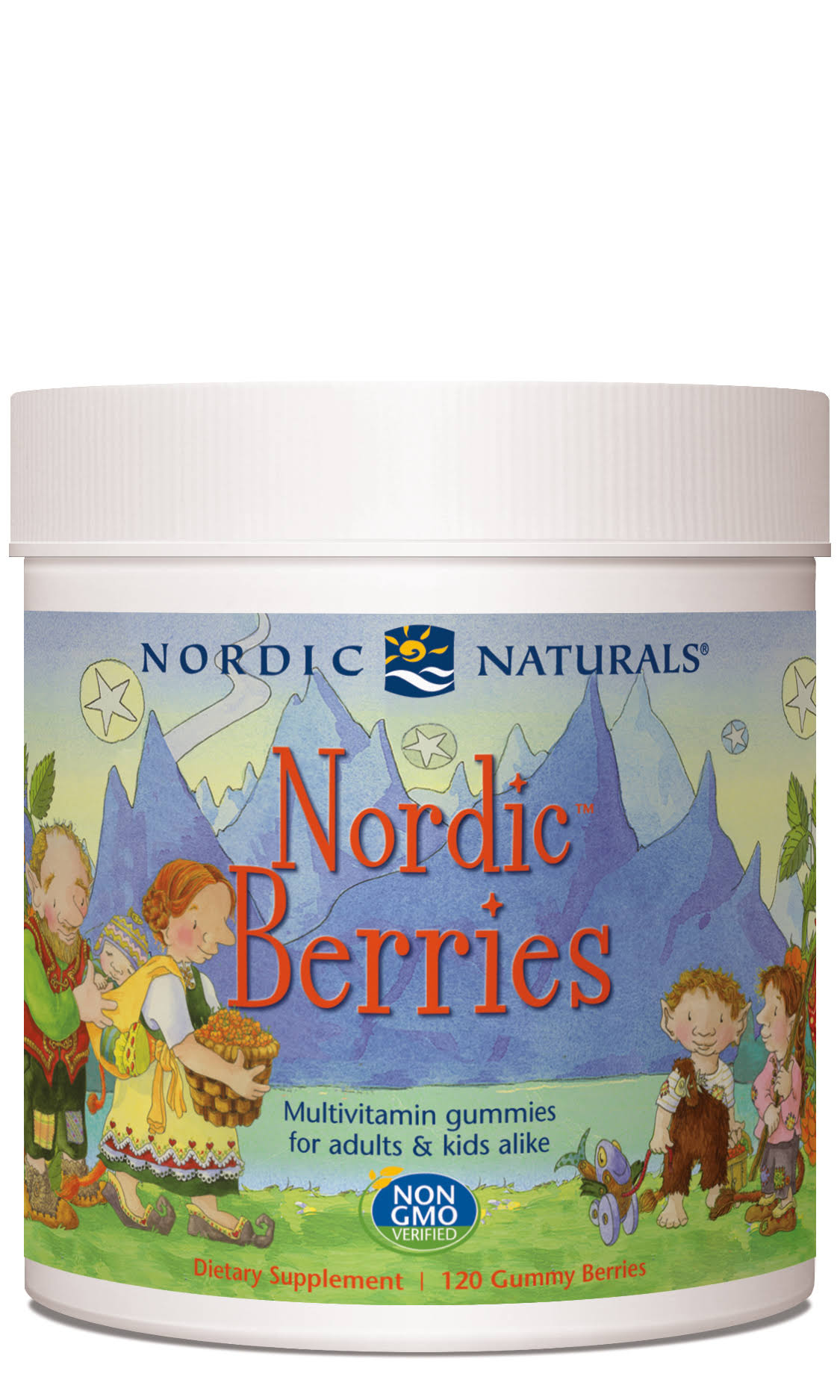 Nordic Naturals, Nordic Berries, 120 Gummy Berries