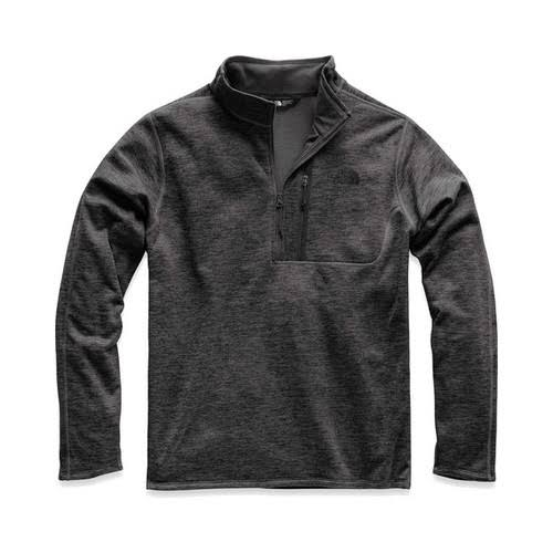 The North Face Canyonlands 1/2 Zip - Men's TNF Dark Grey Heather / XL